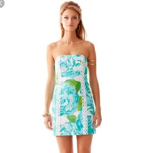 🎁 SALE 🎄 Lilly Pulitzer Tansy Strapless Dress